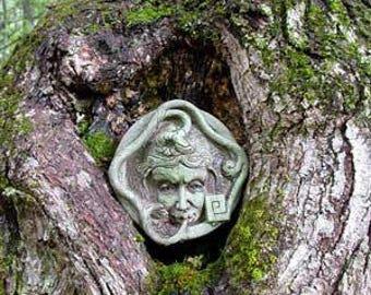 garden face wall sculpture art nouveau sculpture garden sculpture face sculpture garden