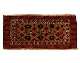 Turkmen Russian Rug Semi Antique