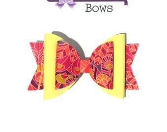 Medium double dolly hair bow