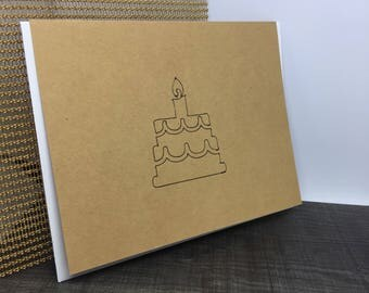 Sweet Birthday Cards - Birthday Cake Cards - Birthday Card - Card for  Mom - Bday Card for Him - Bday Card for Her - Bday Card for Mom