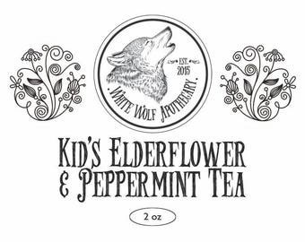 Kid's Elderberry Flower & Peppermint Tea