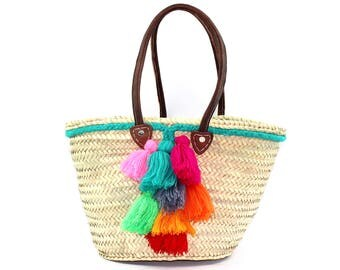 Beach Bag Basket - Beach basket