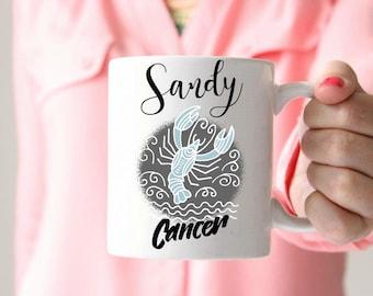 Cancer Birthday Gift Cancer Sign Cancer Zodiac sign Gift Gift for Cancers Gift for the Crab
