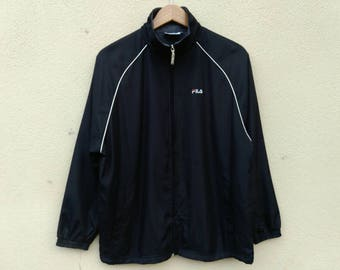 Vintage Fila small logo embroidery zipper jacket | Very good condition | M size