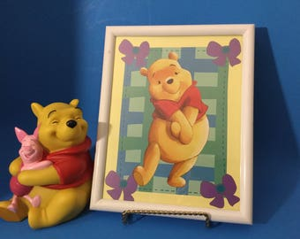 Winnie The Pooh Frame And Bank
