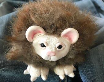 Small OOAK Stuffed Animal Bear