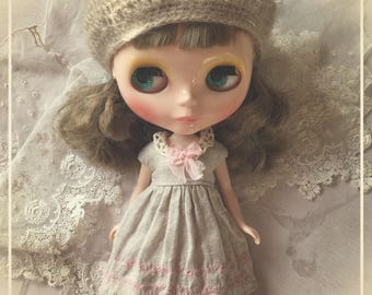 Blythe Doll Dress Ruruko Pullip Jerryberry Licca pure neemo S Linen