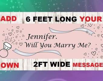 marry me sign, will you marry me ,marry me banner, proposal banner, proposal sign, marriage banner ,engagement banner