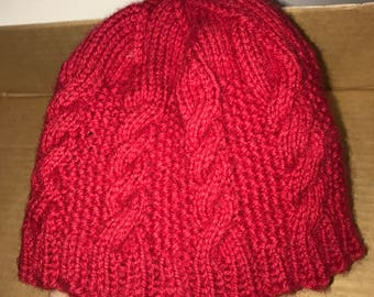 Baby Knitted red hat