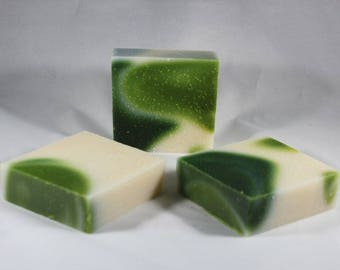 White Tea Mint- Handmade Soap