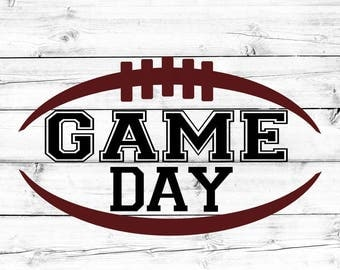 Football SVG - PNG, Game Day Svg, Game Day Shirt Svg, Football Silhouette, Svg Files, Cut Files for Cricut, Svg for Cricut