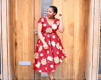 Johana Asymmetric Dress