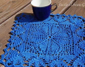 Romantic crocheted Doilies