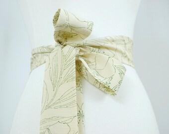 Kimono Robe Silk Sash - Women's Clothing/silk sash/robe sash/kimono sash/kimono tie/dressing gown/bridal sash/obi/kimono robe/robe tie