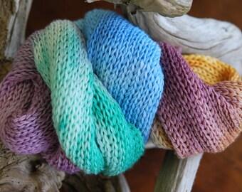 Hand Dyed Sock Yarn Blank - Tea Party
