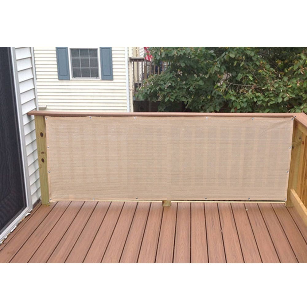 custom sized elegant privacy screen backyard deck patio