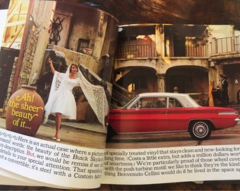 Buick Sylark 1962 Sales Brochure