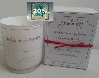 Tuberose - Passion scented candle / Scented candle Tuberose - Passion