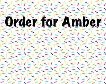 Order for Amber