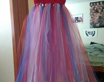 Summer tulle dress