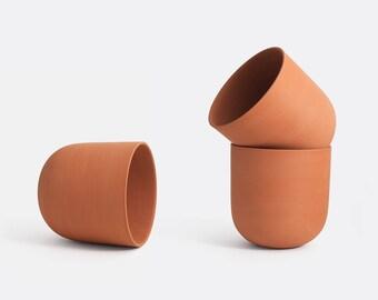 Handmade Terracotta Macrame Pot // Plant Pot 17cm x 17cm x 17cm // Terracotta planter // Macrame Planter // Gift Idea