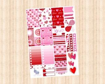 NEW VALENTINES Weekly Kit // Happy Planner // Erin Condren // Personal