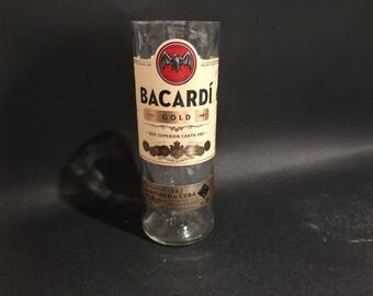 Bacardi Candle Gold Rum  Bottle Soy Candle. 750ML. Made To Order !!!!!!!