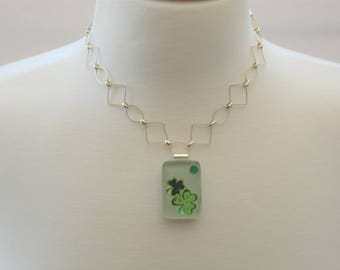 Shamrock Pendant Necklace