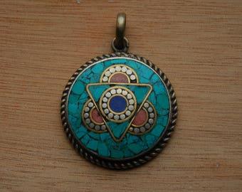 Triangle Stone Amulet - Spiritual Necklace