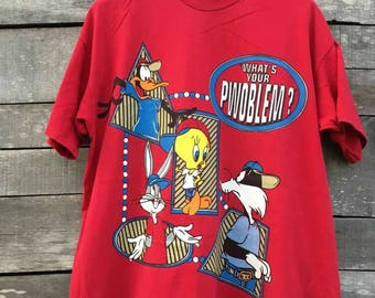 Vintage looney tunes by warner bros cartoon 90s