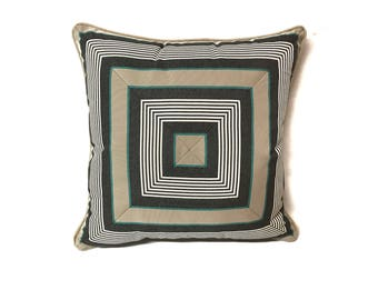 Cut and Sewn Toss Pillow Water Resistant Beige