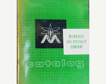 S Milwaukee Gas Specialty Company Catalog A - 1955