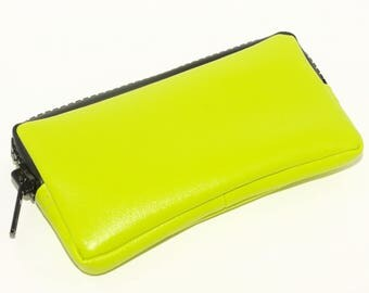 Green Phone Wallet, All-In-One Essentials Case