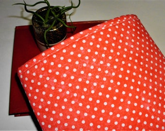 Book Sleeve Padded Book Pouch Book Cover Book Cozy Kindle Fire I-Pad Mini Sleeve Ships Tomorrow