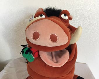 Vintage Lion King Pumba Plush!