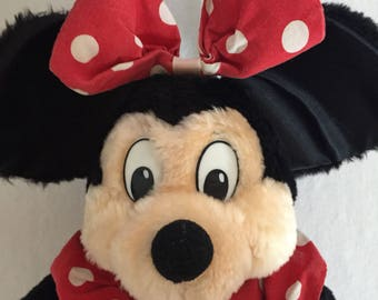 "Vintage 18"" Minnie Mouse Plush"