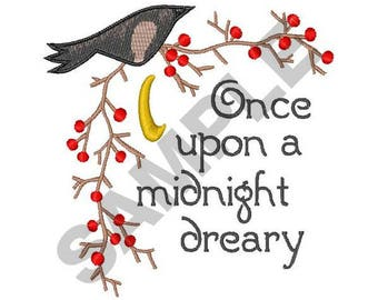 Midnight Dreary - Machine Embroidery Design