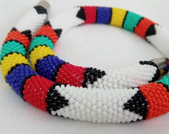 Authentic White Necklace