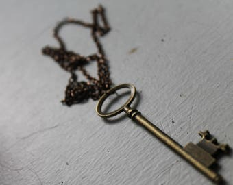 Rustic Key Necklace