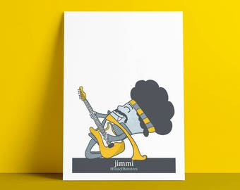 Poster MusicMosnters Jimmi