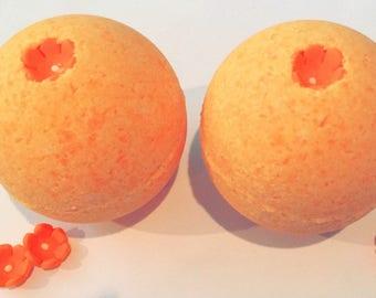 Orange Wildflower Sweet Orange Bath Bomb