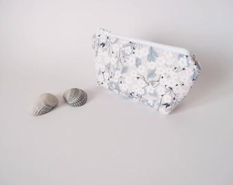 Mini trousse de sac - Liberty Mitsi - Petite trousse pour maquillage, mouchoirs, medicament
