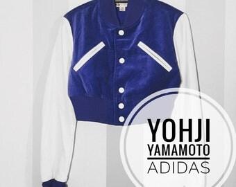 Yohji Yomamoto Adidas Y3 bomber jacket