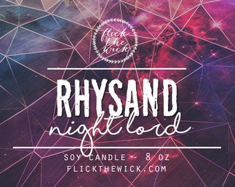 Rhysand - 8oz Soy Candle