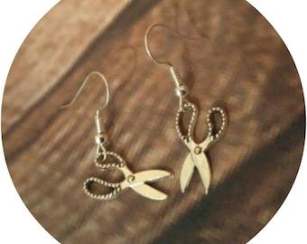Scissors Earrings, Hairdresser Earrings, Stylist Earrings, Barber Earrings, Craft Earrings, Seamstress Earrings