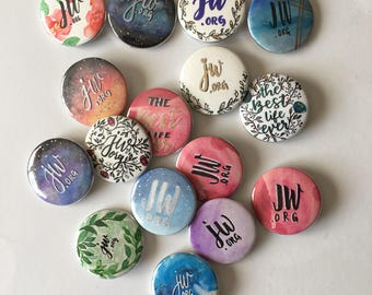 Pre-ORDER: Button Pins - Jehovah Witness Accessories