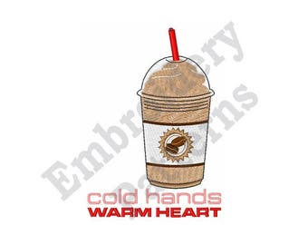 Cold Hands Warm Heart - Machine Embroidery Design