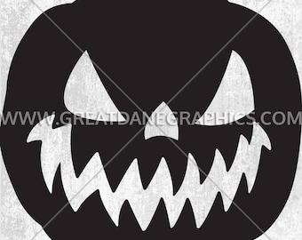 Jack O Lantern, Jack O Lantern SVG File, Jack O Lantern SVG Vinyl Cutting File, SVG File for Cricut, Jack O Lantern Clipart Cutting Template