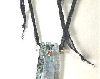 Rough Kyanite Pendant