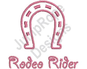 Rodeo Rider - Machine Embroidery Design